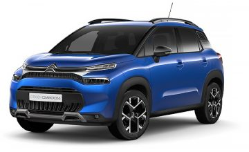 Citroën C3 Aircross Voltaic Blue