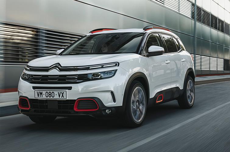 Citroën C5 Aircross prijs