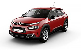 Citroen C4 Cactus Feel Sport Red 1