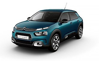 Citroen C4 Cactus Shine Emerald Blue 1